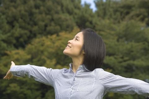 ピラティス効果は胸式呼吸を繰り返すことが肝心
