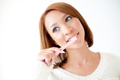 インフルエンザ予防には朝イチ歯磨きが効果的