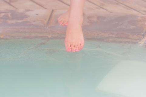 足湯の効果は汗腺トレーニング!熱中症予防にも