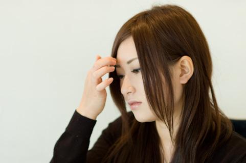 筋膜はがしは髪の分け目を変えることでもできる