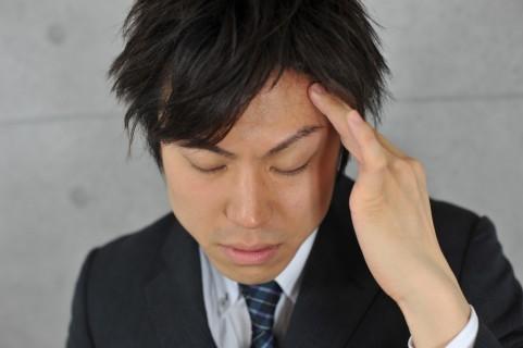 こめかみを押される頭痛の原因は顎関節症だった