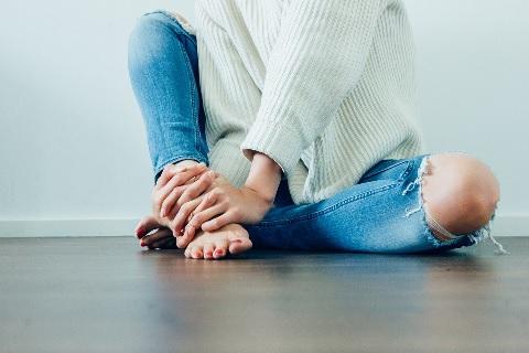 シシー・スクワットあとは屈伸運動でひざ伸ばし