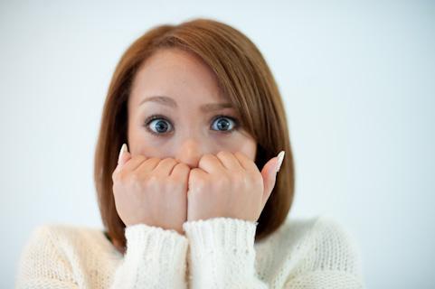 歯ぎしりが原因で顔が大きく見えている